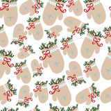 configuration de Noël sans joint Photos stock