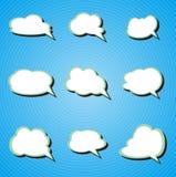 Configuration de nuage Images stock