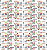 Configuration de Pâques Photo libre de droits