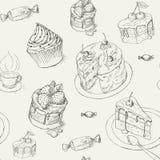 Configuration de pâtisserie illustration libre de droits