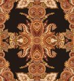 Configuration de Paisley Photo libre de droits