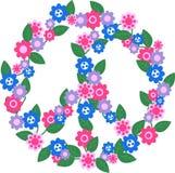 configuration de paix Image libre de droits