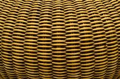 Configuration de panier en osier Photographie stock libre de droits