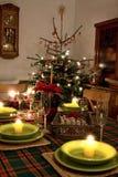 Configuration de place de Noël photo stock