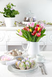 Configuration de place pour Pâques Photographie stock