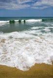 Configuration de plage Photos stock