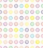 Configuration de points sans joint de polka Image libre de droits