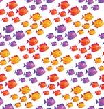 Configuration de poissons Photographie stock