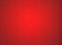 Configuration de réseau rouge abstraite Images libres de droits