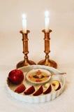 Configuration de Rosh Hashanah photo libre de droits
