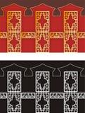 Configuration de shui de Feng Illustration Libre de Droits