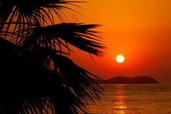 Configuration de Sun Images libres de droits