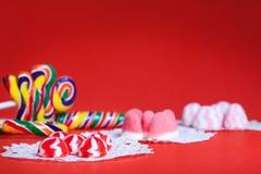 Configuration de table d'anniversaire (enfance) Photos stock