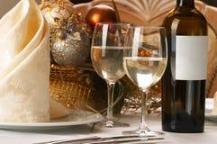 Configuration de table de banquet images stock