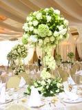 Configuration de table de mariage Images libres de droits