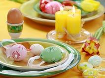 Configuration de table de Pâques photos libres de droits
