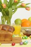 Configuration de table de Pâques Images libres de droits