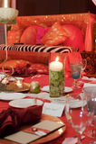 Configuration de Tableau à une réception de mariage de luxe Images stock