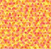 Configuration de triangle Fond géométrique de vecteur sans couture Images libres de droits