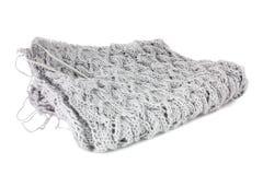 Configuration de tricotage avec des pointeaux, d'isolement Photo libre de droits