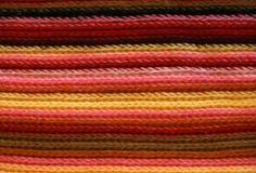 Configuration de tricotage colorée Image libre de droits