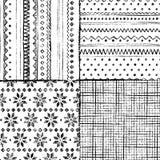 Configuration de tricotage sans joint photographie stock