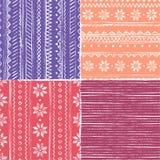 Configuration de tricotage sans joint photos libres de droits