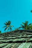 Configuration de tuile de toit Photographie stock libre de droits