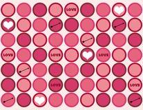 Configuration de Valentine Photo libre de droits