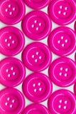Configuration des boutons roses Images libres de droits