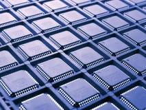 Configuration des processeurs Images stock
