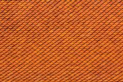 Configuration des tuiles de toit rouges Photos libres de droits