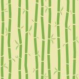 Configuration en bambou Image libre de droits