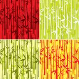 Configuration en bambou,   Image stock