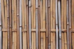 Configuration en bambou sèche Image libre de droits