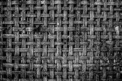 Configuration en bambou tissée Image stock