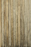 Configuration en bois âgée de mur photo stock