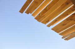 Configuration en bois Photographie stock
