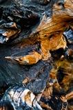 Configuration en bois Photo libre de droits