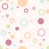 Configuration en pastel de cercles image stock