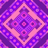 Configuration ethnique Copie tribale Fond tribal Configuration sans joint illustration stock