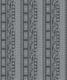 Configuration ethnique sans joint illustration stock