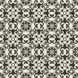 Configuration fleurie baroque Image libre de droits