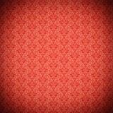 Configuration fleurie rouge de cru Image stock