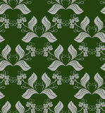Configuration florale abstraite Photographie stock libre de droits