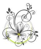 Configuration florale abstraite illustration de vecteur