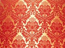 Configuration florale abstraite de tissu Image stock