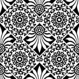 Configuration florale baroque Images libres de droits