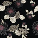 Configuration florale colorée Images libres de droits