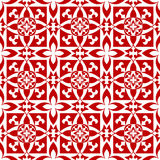 Configuration florale d'arabesque Image stock